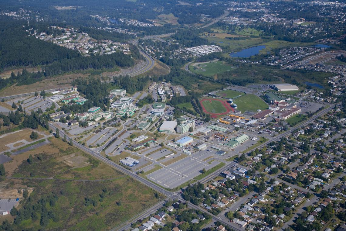 viu nanaimo campus map Planning Documents Campus Master Plan Vancouver Island University viu nanaimo campus map
